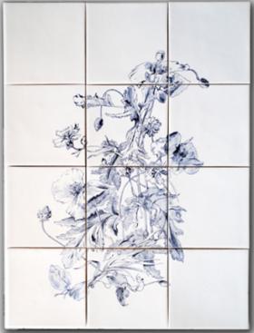 Mohn- u Korn-Blumen, Unikat